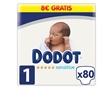 Fraldas Dodot Sensitive T1 2-5kg 80 Un