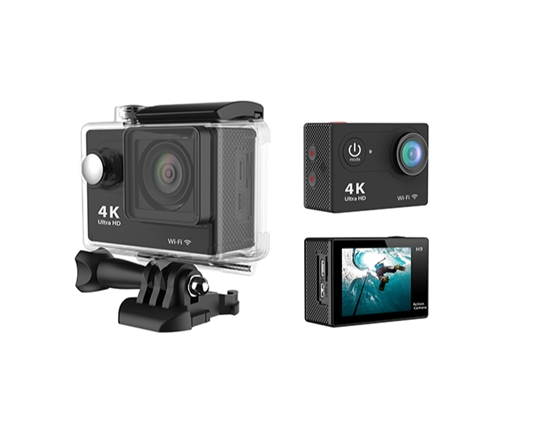 Action Cam NewMobile 440 4K Black With remote