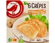Crepes Auchan Queijo Emmental Ultracong 6x50