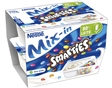 Iogurte Nestlé Mix-in Smarties Baun. 2x128g