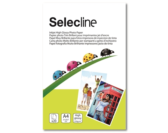 SELECLINE A4_230gr_x 20 sheets
