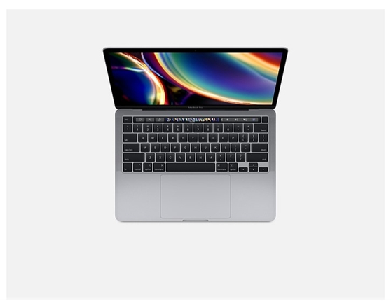 13-inch MacBook Pro with Touch Bar: 2.0GHz QC 10th/i5/16GB, 512GB - Space Grey