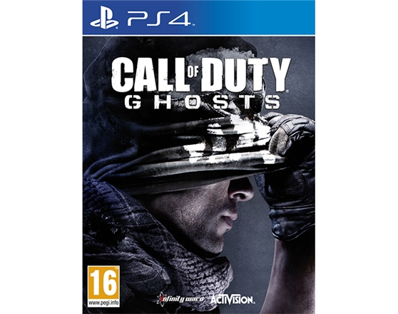 PS4 CALL OF DUTY:GHOSTS