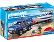 Camiao Da Policia Playmobil Com Lancha City Action