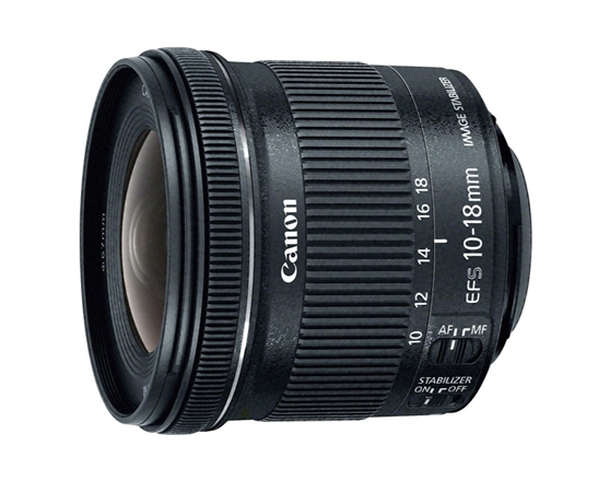 EF-S 10-18MMF/4.5-5.6 IS STM