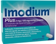Comprimidos Imodium Plus 2mg + 125mg 12un