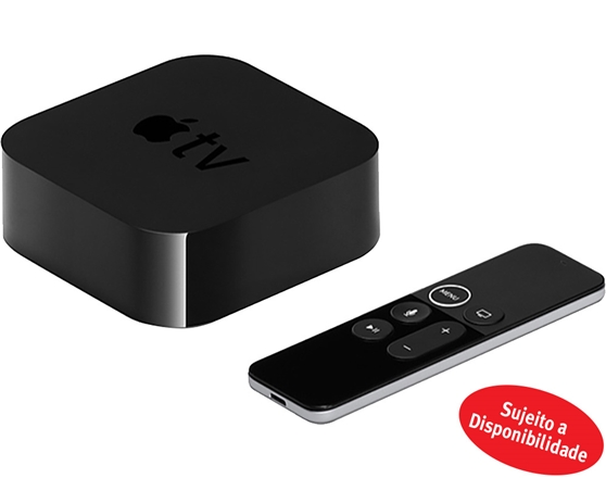 ADAPTADOR MULTIMEDIA APPLE:TV 4ª GERAÇÃO 32GB MR912QM/A