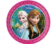 Prato Descartavel Frozen  23cm 8un