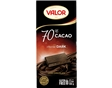 Tablete Chocolate Negro Valor 70% Cacau 100g