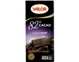 Tablete Chocolate Negro Valor 82% Cacau 100g