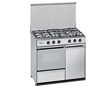 Fogao Gas But Meireles Inox Porta/gfa 90cm N 921 X
