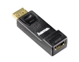 Adaptador HDMI femea - DisplayPort macho