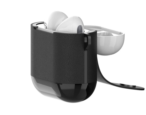 DEVIA AirPod Wireless Charger Case (Black)