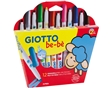 Marcadores Colorir Giotto Be-be 12un