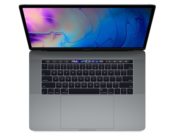 15-inch MacBook Pro with Touch Bar: 2.3GHz 8-core 9th-generation IntelCorei9 processor, 512GB 16GB - Space Grey