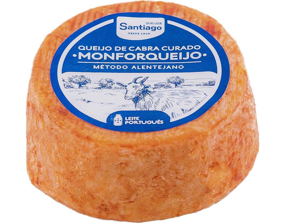 1 Whole Ball Portuguese Cured Goat Cheese  Quinta Do Olival     Free Shipping