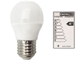 Lampada Led Mini Esfer. Auchan Luz Branca E27:25w6400k
