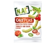 Snack Nature Addicts Tiras Ervilha Tomate Mang 50g