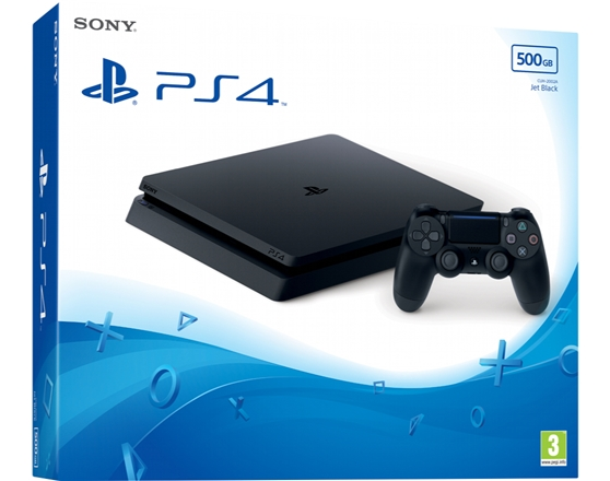 CONSOLA PS4:SLIM 500GB 9845652