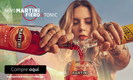 Novo Martini Fiero & Tonic!