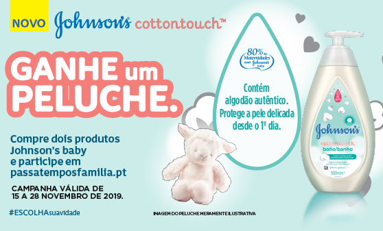 Johnsons - Novo cotton touch protege a pele delicada desde o 1º dia!